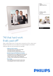 Philips Digital PhotoFrame SPF2527