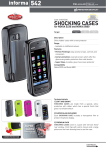Cellular Line SHCK5230G mobile phone case