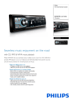 Philips CEM220X Car entertainment system