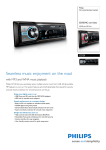 Philips CE120 Car entertainment system