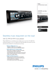 Philips CEM220 Car entertainment system