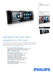 Philips CED320X Car entertainment system