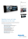 Philips CED320 Car entertainment system