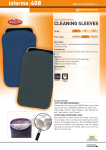 Cellular Line CLEANSLEEVELVP mobile phone case