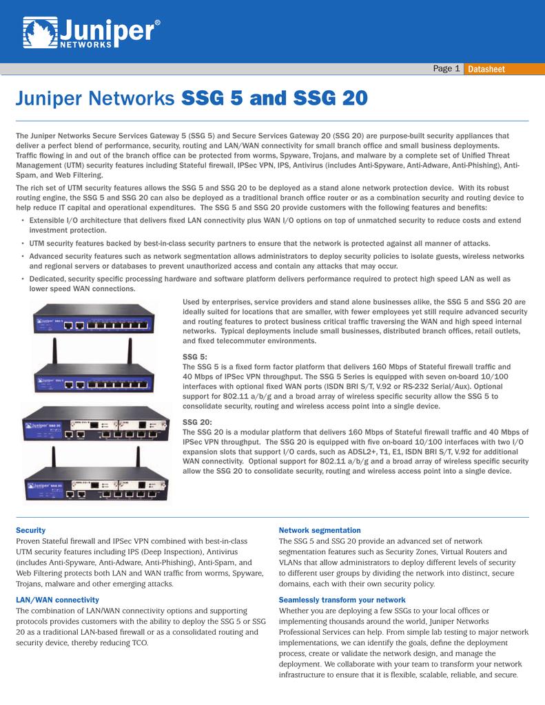 Ssg5 secure services gateway 5 user manual ssg5_hw. Book juniper.