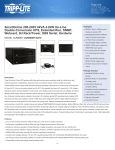 Tripp Lite SmartOnline 200-240V 6kVA 4.2kW On-Line Double-Conversion UPS, Extended Run, SNMP, Webcard, 6U Rack/Tower, DB9 Serial, Hardwire