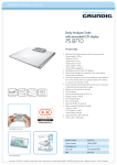 Grundig PS 8710 personal scale