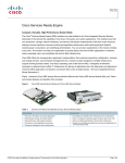 Cisco Internal Service Module