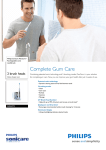 Philips Sonicare FlexCare+ Rechargeable sonic toothbrush HX6972/10