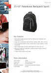 Trust Notebook Backpack Sport