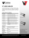 V7 USB Active Extension Cable