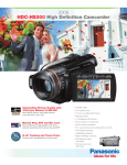 Panasonic 120GB Full HD Camcorder