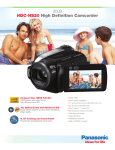 Panasonic 80GB Full HD Camcorder