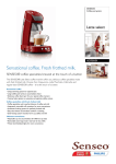 Senseo Senseo HD7850/81 Latte Select Coffee Pod System