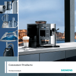 Siemens TS25325 steam ironing station