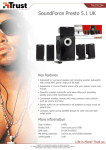 Trust SoundForce Presto 5.1 UK