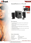 Trust SoundForce 2.1 Pro UK
