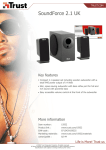 Trust SoundForce 2.1 UK