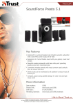 Trust SoundForce Presto 5.1