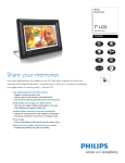 Philips 7FF3FPB/27 PhotoFrame