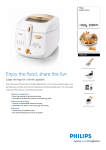 Philips Deep-fat fryer 1300g, 2000W