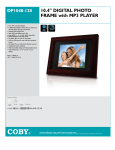 "Coby 10.4"" Digital Photo Frame"