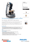 Philips Coffee pod system Aluminium