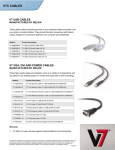 V7 USB 2.0 Extension Cable A-A 6'