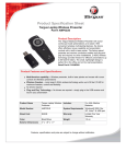 Targus Wireless remote presenter