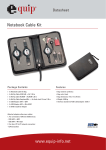 Equip Notebook Cable Kit