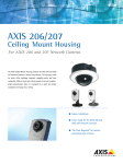 Axis 206/207 Ceiling Mount Housing