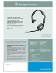 Sennheiser Call center hadset