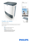 Philips living room air purifier AC4064
