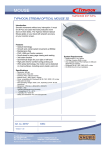 Typhoon Stream Optical Mouse 3D