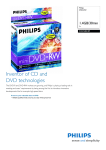 Philips DN1S2B10F 1.4GB / 30min 2x DVD-RW