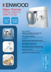 Kenwood KMM760 food processor