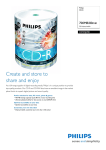 Philips CR7D5JV00 700MB / 80min 52x CD-R