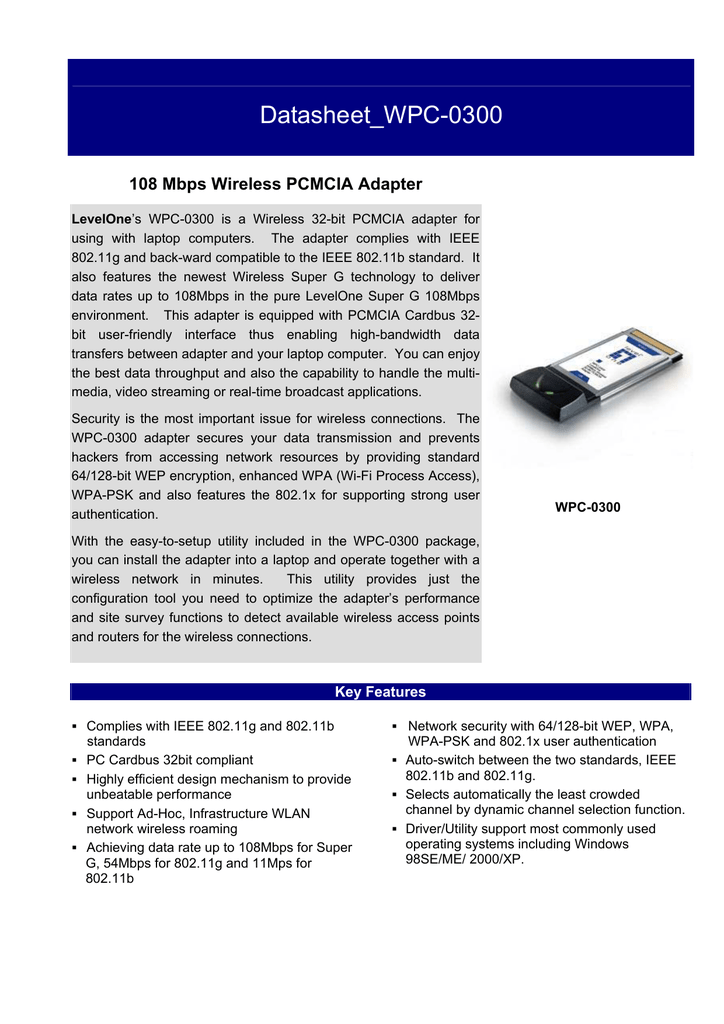 LEVEL ONE WPC 0300 WINDOWS 8 DRIVER DOWNLOAD