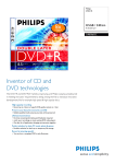 Philips DVD+R DL 8x 8.5GB / 240min JC(5)