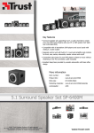 Trust 5.1 Surround Speaker Set SP-6400M UK