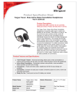 Targus Travel-Ease Active Noise Cancellation Headphones
