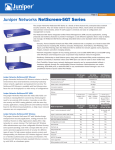 Juniper NetScreen-5GT 10 User