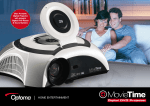 Optoma MovieTime Digital DVD Projector