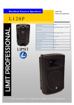 Limit L120P loudspeaker