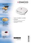 Kenwood Sandwich Maker - SM400