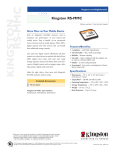 Kingston Technology 128MB Reduced-Size MultiMediaCard