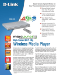D-Link Medialounge Wless Media Player