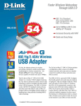 D-Link AirPlus Xtreme G