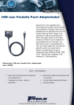 Targus USB To Parallel Printer Cable