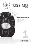 Bosch TAS2002GB coffee maker